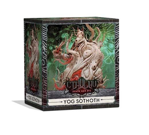 Portada de la expansión de Yog Sothoth para Cthulhu: Death May Die