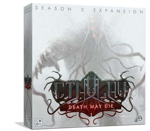 Portada de la segunda temporada del juego d emesa Cthulhu: Death May Die