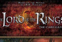 Logotipo de El señor de los anillos: El juego e cartas