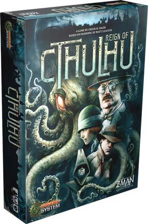 Portada de Pandemic Reign of Cthulhu