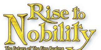 Logotipo del juego de mesa Rise to Nobility