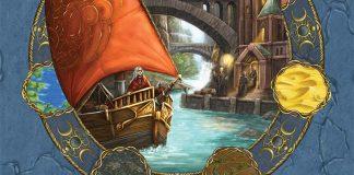 Detalle de la portada de la expansión Merchant of the sea de Terra Mystica
