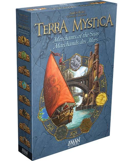 Portada de la expansión Merchant of the sea de Terra Mystica
