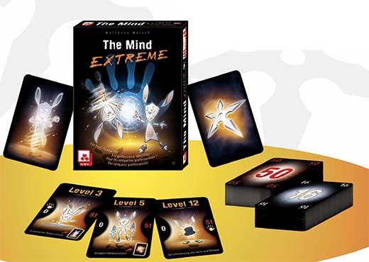 Componentes del juego d emesa The Mind Extreme