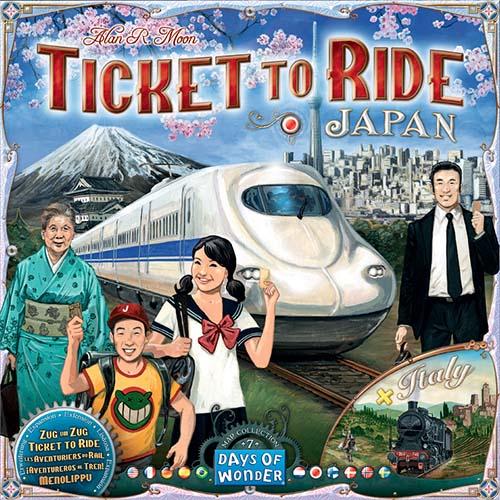 Portada de Tickect to Ride Japan and Italy