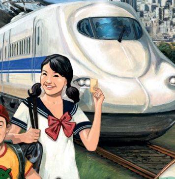 Detalle de la portada de aventureros al tren Japón e Italia