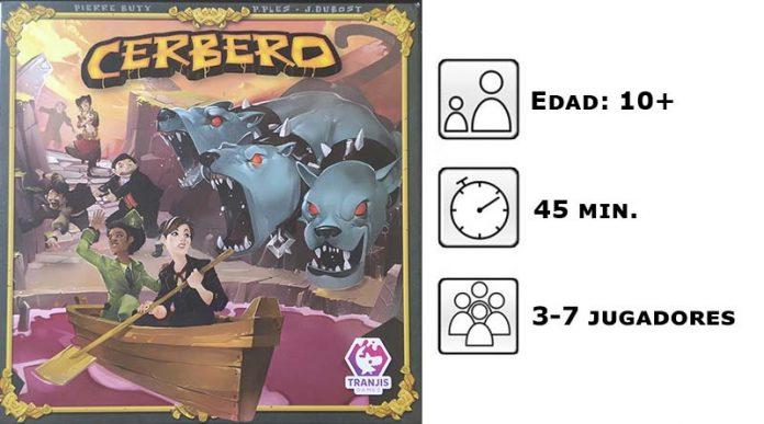 Datos del juego de mesa Cerbero de Tranjis Games