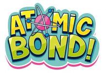 Logotipo de atomic Bond! erl nuevo juego de tablero de Editales