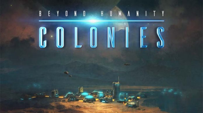 Logotipo de Beyond Humanity: Colonies