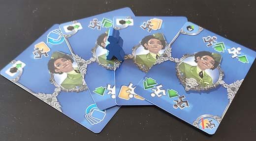 Cartas de Acción del juego de tablero de Cerbero