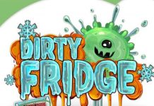 Logotipo del juego de cartas Dirty Fridge