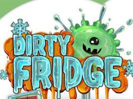 Logotipo del juego de cartas Dirty Fridge