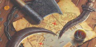 Detalle de la portada de Gloomhaven Subtitle