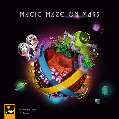 Portada de Magic Maze on Mars