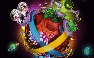 Arte de la portada de Magic Maze on Mars