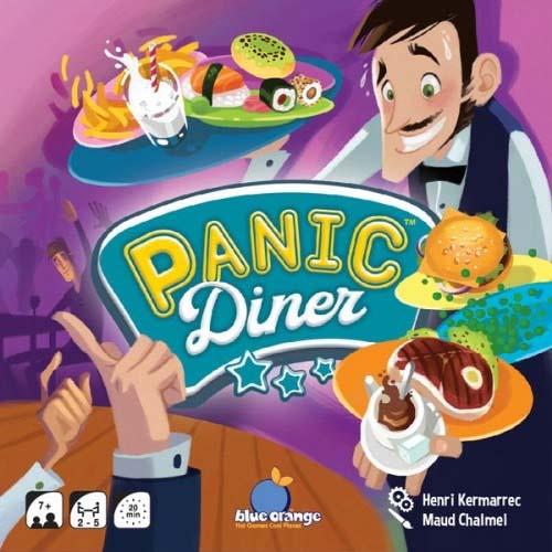 Portada del juego Panic Diner