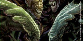 Arte de la portada del juego de mesa Alien: Perfect Organism