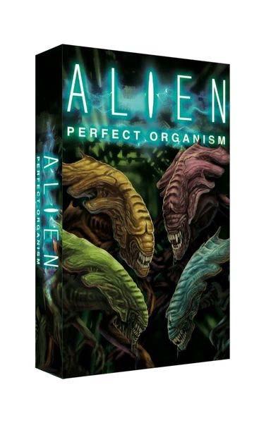 Portada del juego de tablero Alien: Perfect Organism
