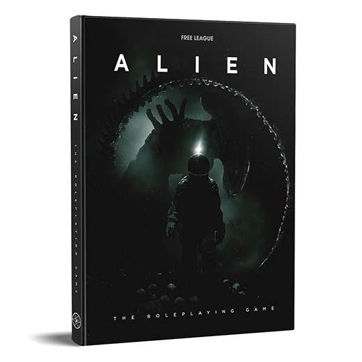 Portada del RPG de Alien