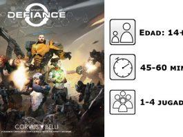 Datos del juego de mesa Infinity Defiance