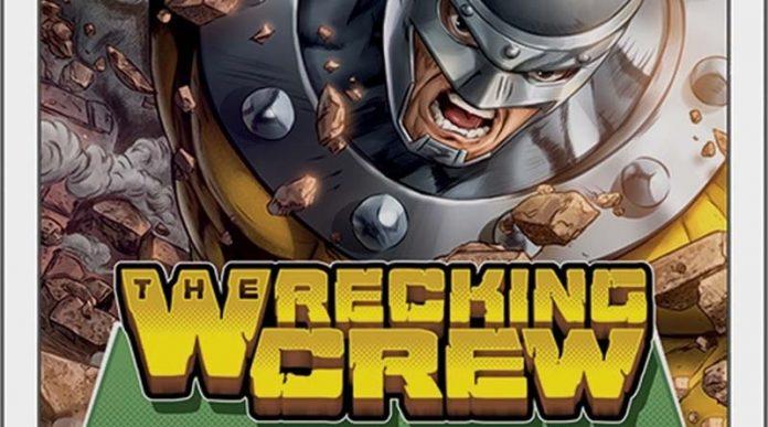 Portada del pack de escenarios de la brigada de demolición de Marvel Champions: El Juego de Cartas