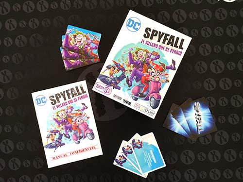 Portada de DC Spyfall