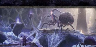 Ilustración de la campaña para Arkham Horror los devoradores de sueños