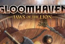 Logotipo de Gloomhaven jaws of the lion