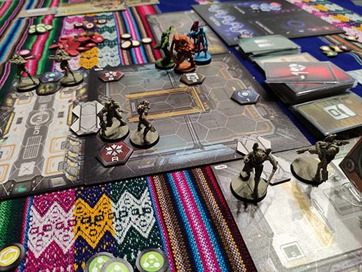 Partida a Infinity Defiance