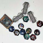 Elementos del tablero de Infinity Defiance