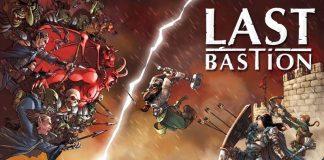 Arte de la portada de Last Bastion