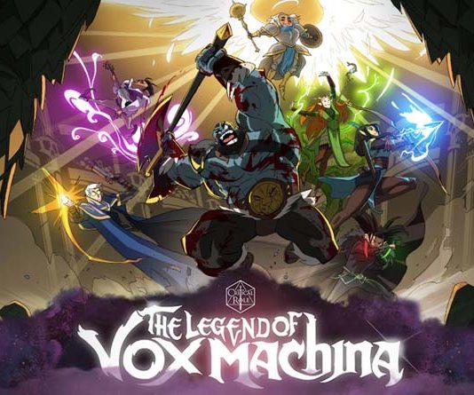 Ilustración de la serie animada legend of von machina