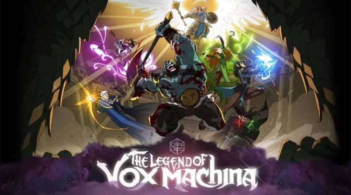 Ilustración de la serie animada legend of von machina