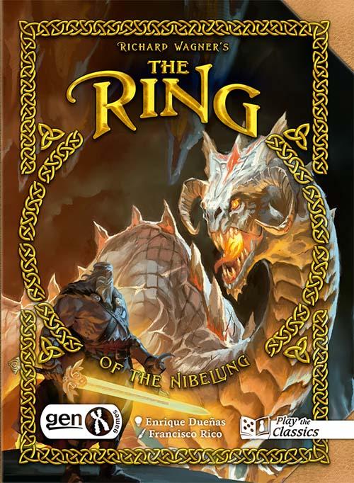 Portada del juego de cartas Richard Wagner's Ring of the Nibelung