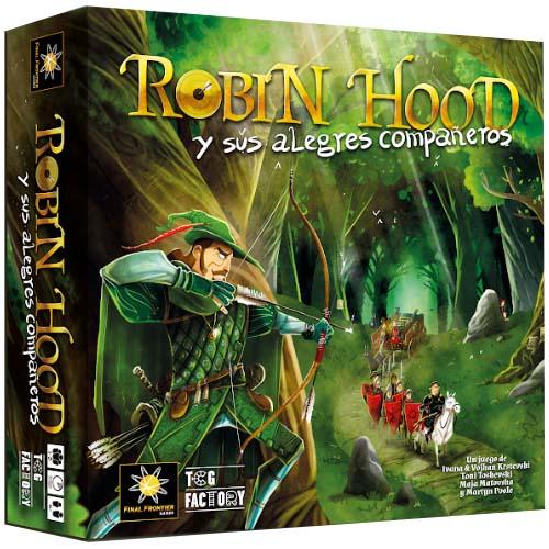 Portada del juego de mesa Robin Hood y sus alegres compañeros