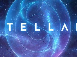 Logotipo del juego de mesa Stellar de Renegade Games
