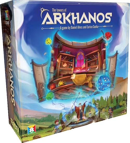 Portada de las torres de Arkhanos