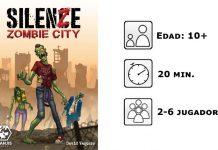 Datos del juego de mesa Silenze Zombie City