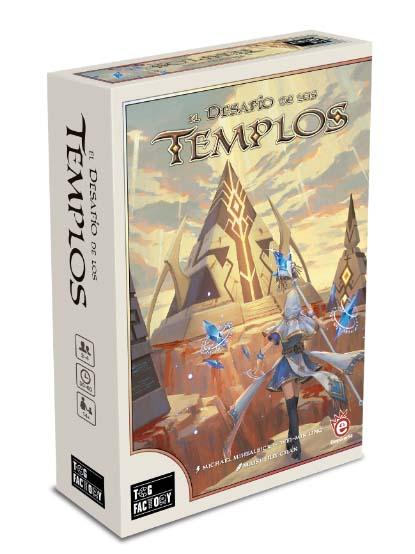 Portada de El desafío de los templos