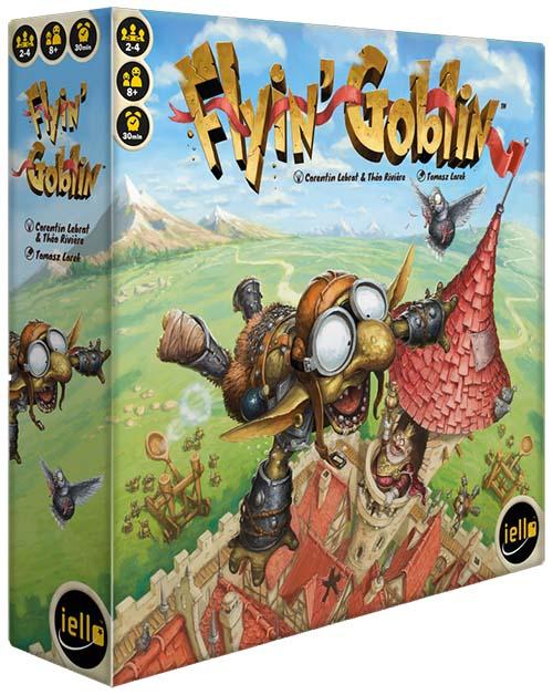portada del juego de tablero flyin goblin en castellano