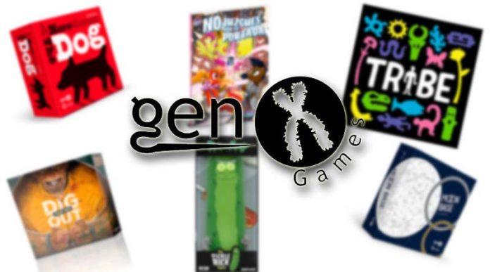 Novedades de Gen x Games para enero de 2020