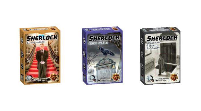 Portadas de los tres nuevos juegos de la serie Sherlock de GDM Games