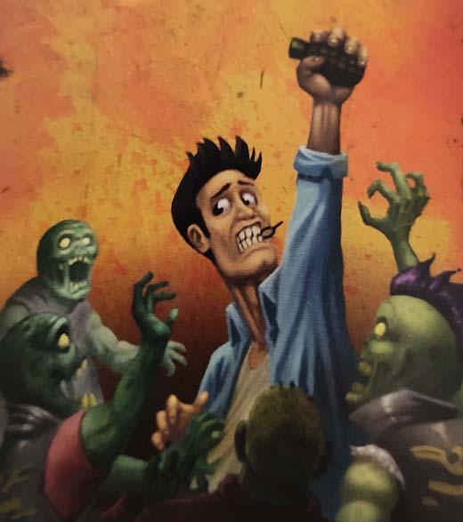 Ilustración de Silenze Zombie City
