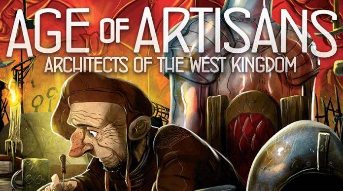 portada de Arquitectos del Reino del Oeste: la Era de los Artesanos