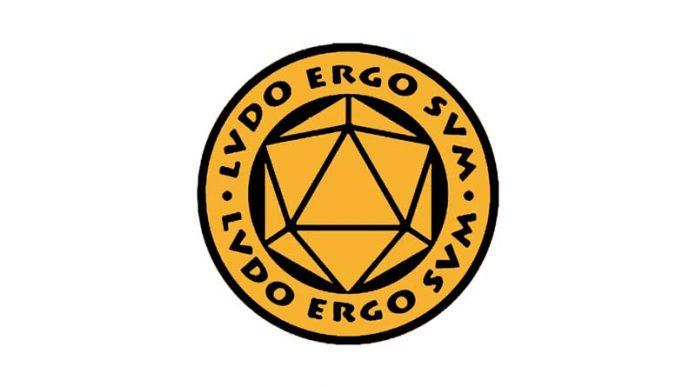 Logotipo de la asociación Ludo Ergo Sum