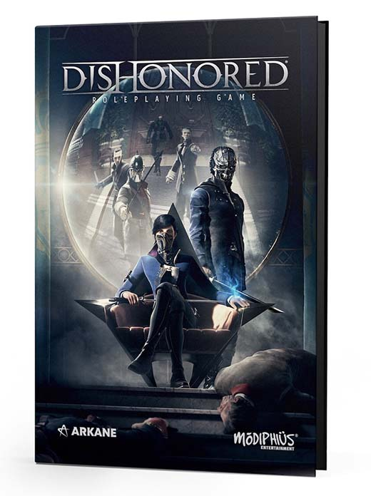Portada del RPG Dishonored