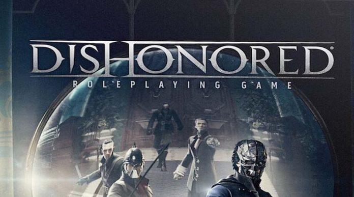 Logotipo del juego de rol Dishonored
