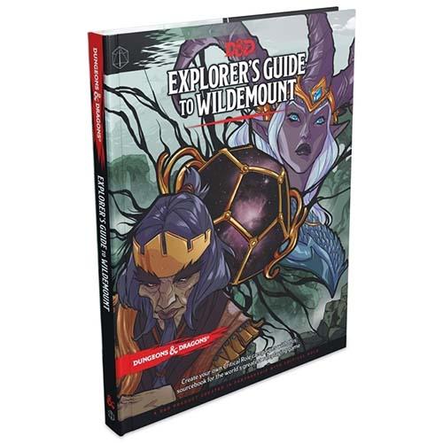 Libro del escenario de campaña de critical role para D&D 5E Explorer's Guide to Wildemount