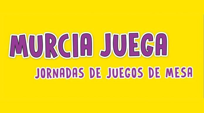 Logotipo de la segunda edición de las jornadas Murcia Juega