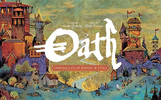 portada de Oath: Chronicles of Empire and Exile
